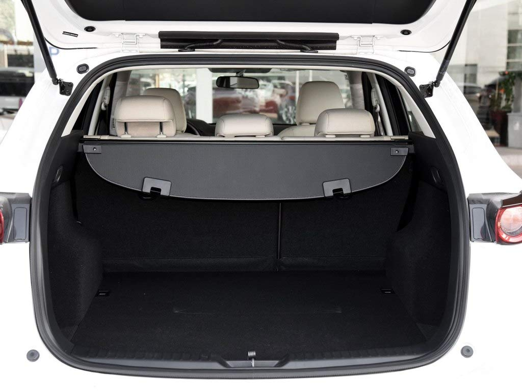 Cosilee Retractable Rear Trunk Parcel Shelf Security Shield Cargo Luggage Security Cover Shade for Mazda CX5 CX-5 2017 2018