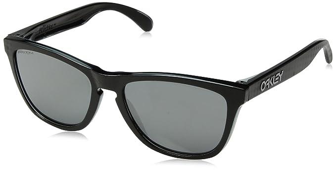 Oakley Frogskins 9013B8 55, Gafas de Sol para Hombre, Negro (Checkbox Black)