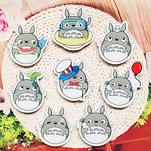 To map d personalized badge brooch acrylic patch badge cartoon chinchillas