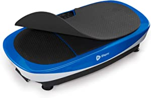 LifePro Rumblex Max 4D Vibration Plate Exercise Machine with Loop Resistance Bands - Full Body Workout Equipment for Home Fitness, Shaping, Training, Recovery, Weight Loss