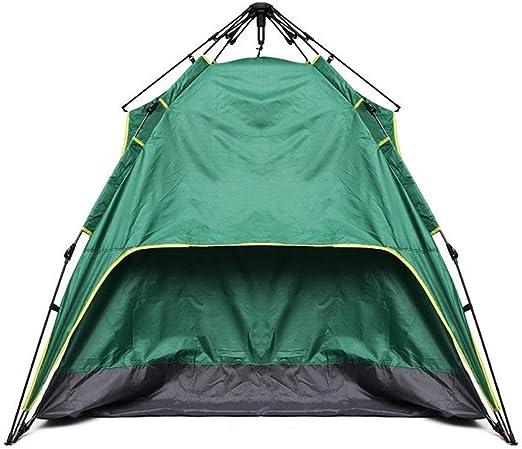 PIKA PIKA QIO Tienda de campaña for Exteriores de 2-3 Personas Sombrilla automática for Exteriores de Doble Capa instantánea - Verde Militar para Camping (Color : Army Green): Amazon.es: Hogar