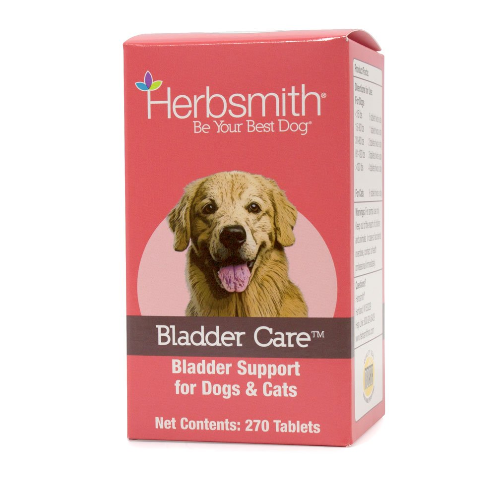 Herbsmith Bladder Care for Cats and Dogs – Maintains Urinary Health for Dogs and Cats – Dog and Cat Kidney Support – 270 Tablets