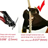 Tonxi Stainless Steel Wire Cutters Heavy Duty