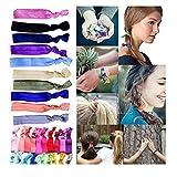 Ribbon Hair Ties, Ponytail Holders Hair Bands No...