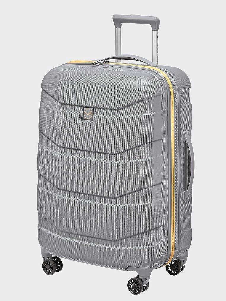 ルフトハンザ 正規品 Lufthansa 機内持込 ユニバーサルコレクションモデル キャビントロリー スーツケース シルバー Lサイズ [並行輸入品] B06W56B53H