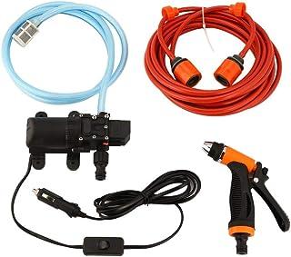 6L/min 130PSI High Pressure Car Water Pump Car Cleaning Kit 70W 12V DIY Auto Washing Tools Set Water Saving Car Accessaries
