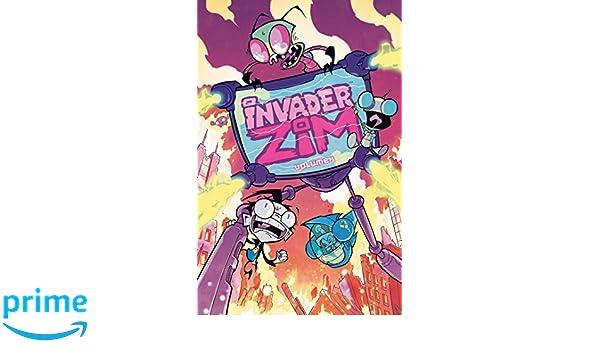 Invader Zim Volume 1: Amazon.es: Jhonen Vasquez, Eric ...