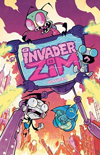 Invader Zim Volume 1 [Jhonen Vasquez - Eric Trueheart] (Tapa Blanda)