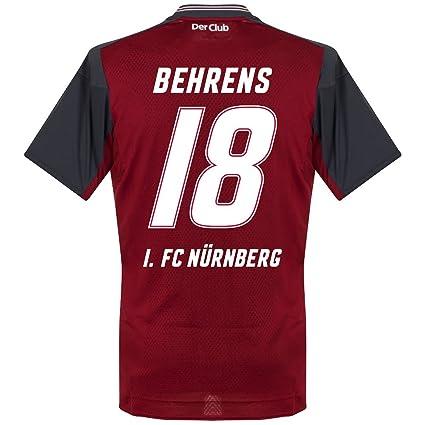 brand new 2bc74 4ba4c Amazon.com : Umbro 1. FC Nurnberg Home Behrens Jersey 2017 ...