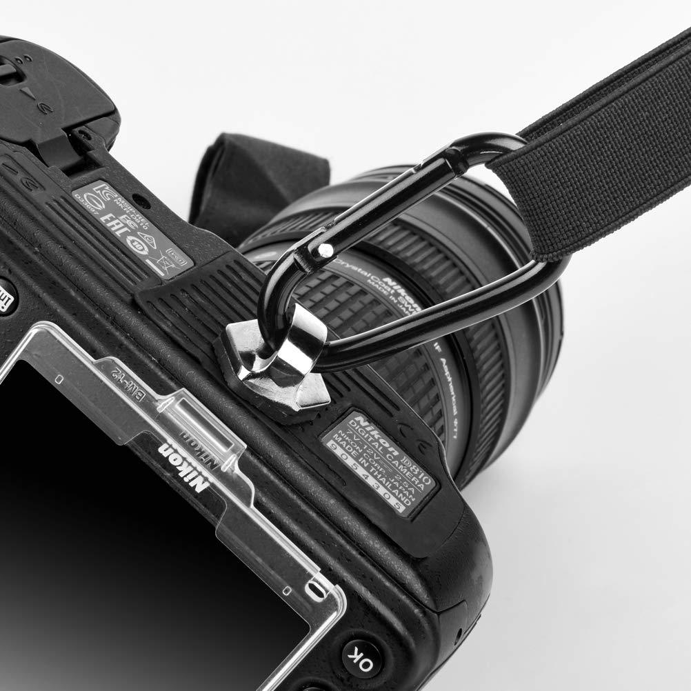 4 pack Zecti 1//4 Neck Strap Screw Holder Camera Screw for Quick Release//Install Neck Strap Sling Wrist Strap Holder for Camera DSLR Canon Nikon Sony Olympus Panasonic Sigma