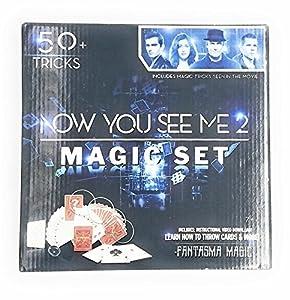 Now You See Me 2 Magic Set 50+ Tricks