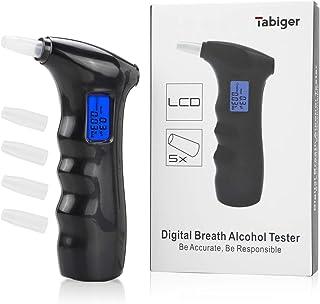 Portable Digital LCD Breath Alcohol Tester Analyser Yeshi Professional Breathalyzer