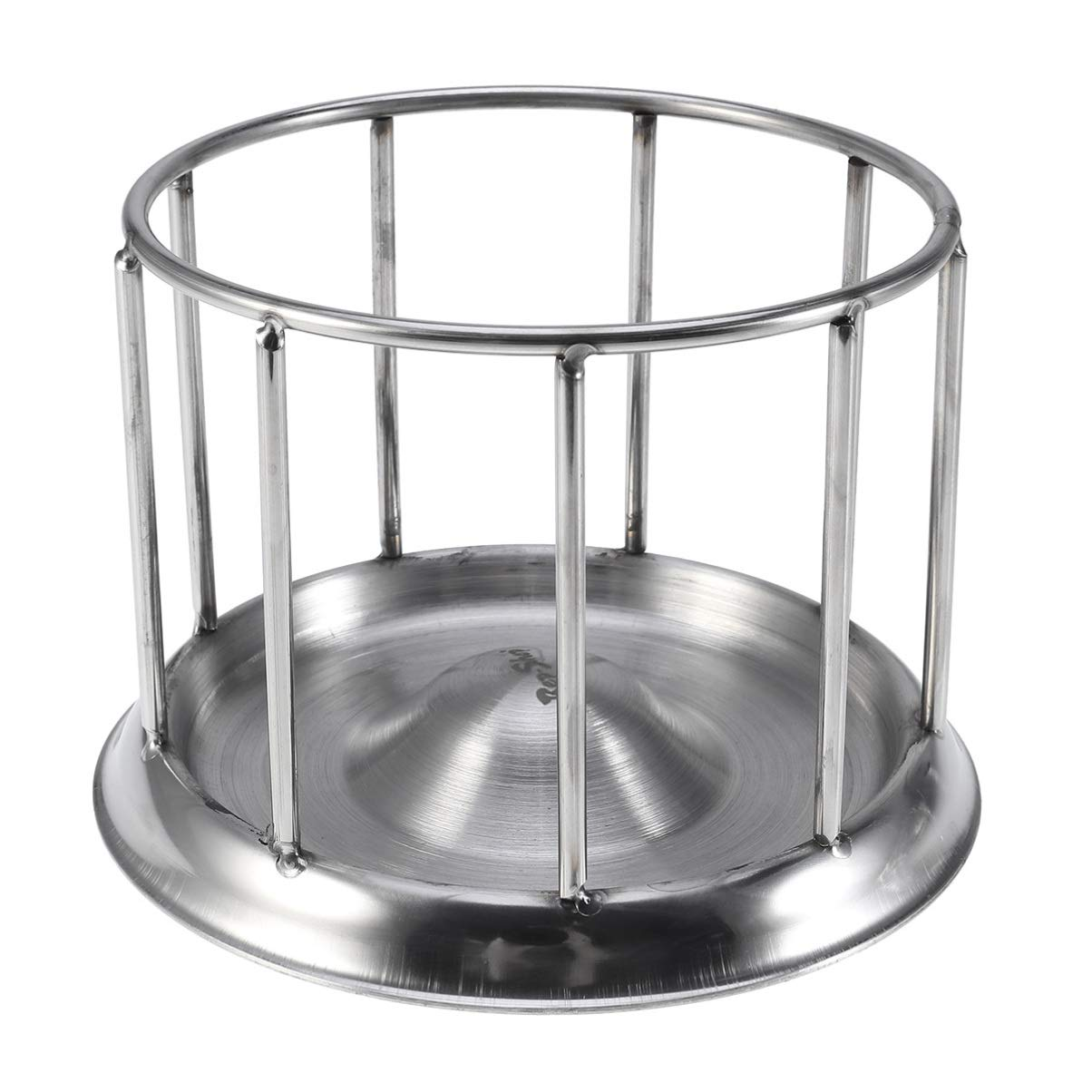 Balacoo Tortoise Water and Foot Bowl Stainless Steel Pet Feeding Tray (L) by Balacoo
