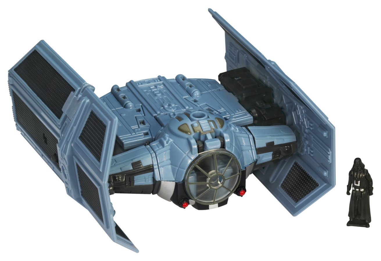 Hasbro Star Wars Transformers Vader and Tie Fighter 85895