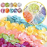 KUUQA 61 Packs Slime Supplies Kit,Including Fishbowl Beads,Sugar Paper, Grid, Googly Eyes, Shell, Slices, Confetti, Slime Foam Beads, Imitation Gold Leaf (Contain No Slime)