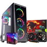 Pc gaming Intel i7 8700/Ram 8gb ddr4/ Ssd 240gb /Hdd 1tb/ Scheda video Gtx1050ti 4gb PSU 80plus/Computer da gaming assemblato/Pc fisso gaming
