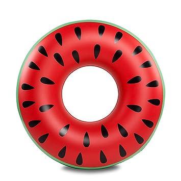 Amazon.com: LLN - Anillo hinchable de sandía para natación ...
