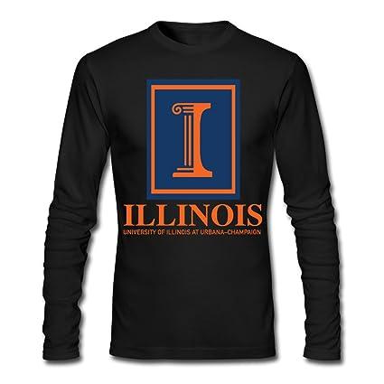 University Of Illinois At Urbana Champaign Men's Long Sleeve T-Shirt