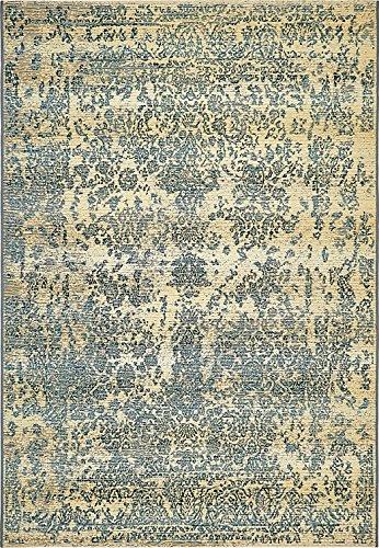 A2Z Rug Indoor/Outdoor Beige 4′ x 6′ – Feet Marbella Collection Area rugs – Perfect for Outdoor Area's & Indoor