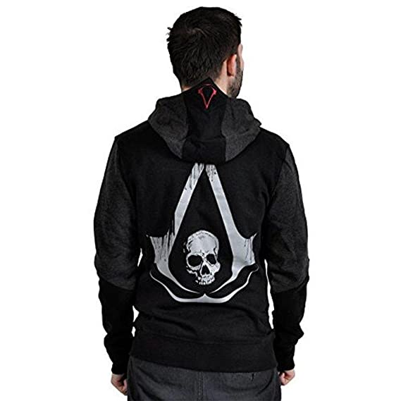 Fashion And Youth Assassin S Creed Black Flag Cotton Hoodie Mens