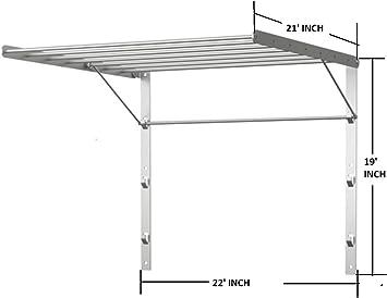 Amazon.com: IKEA estante montado en la pared para secar la ...