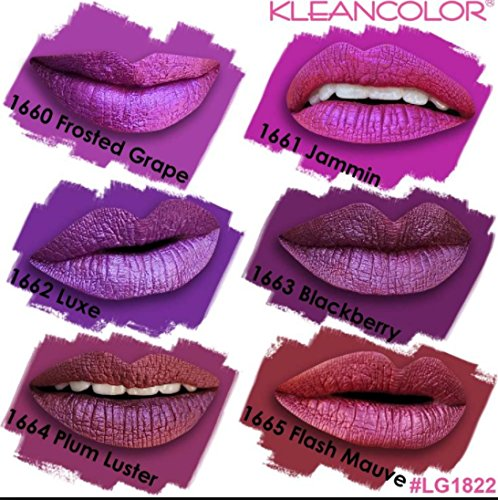 Kleancolor Madly Matte Metallic Liquid Lip Gloss LG1822