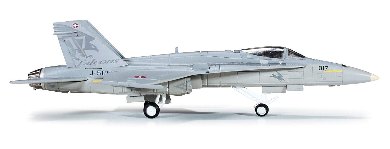 Herpa 554718 - SchWeißer Luftwaffe F-18 Mcdonnell Douglas F A-18C Hornet Solo Display Team