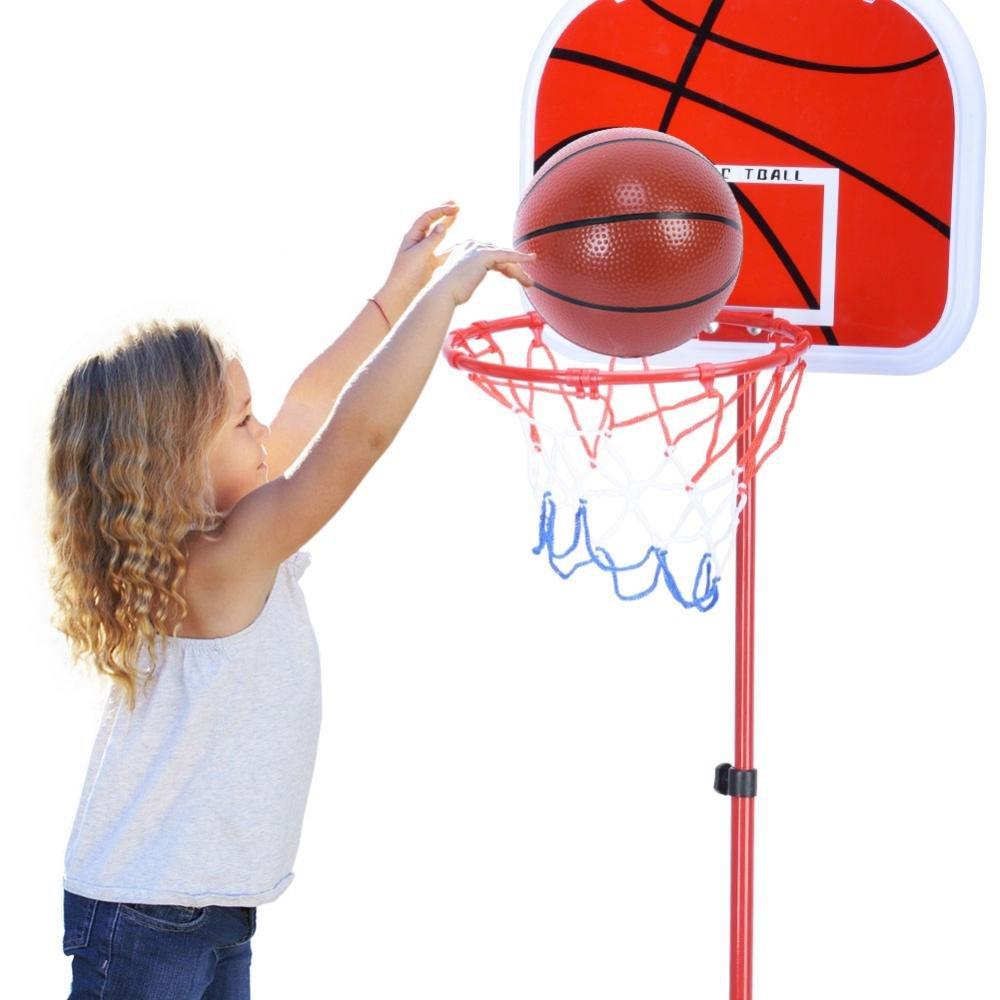 VGEBY - Juego de Baloncesto portátil, Altura Ajustable, Soporte de ...