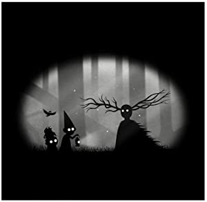 Wayward Souls Over The Garden Wall Limbo Poster Decorative Painting Canvas Wall Art Living Room Poster Bedroom Painting 15.7x15.7 inches (40x40cm)
