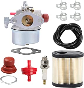 Panari 640350 LEV120 Carburetor for Tecumseh 640271 640303 640278 640338 LEV100 LEV105 LEV115 LV195EA LV195XA Toro Recycler 20016 20017 20018 Lawnmowers