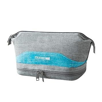 Amazon.com   Cosmetic Bag Girl Fashion Multifunction Makeup Pouch Beauty  Travel Fashion Makeup Bags (Gary)   Beauty e61a386bfff16