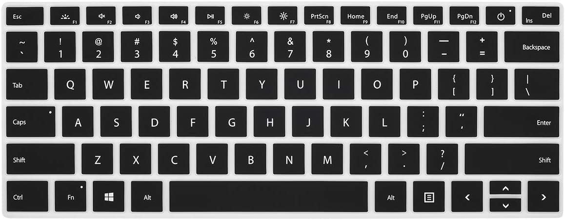 CaseBuy Keyboard Cover for Microsoft Surface 2019-2021 Release Laptop 3 4 13.5