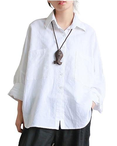 Aeneontrue11 - Camisas - con botones - para mujer