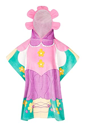 Nifty Kids Chica Joven Flower Fairy Poncho Toalla New con Capucha niños algodón baño & Playa