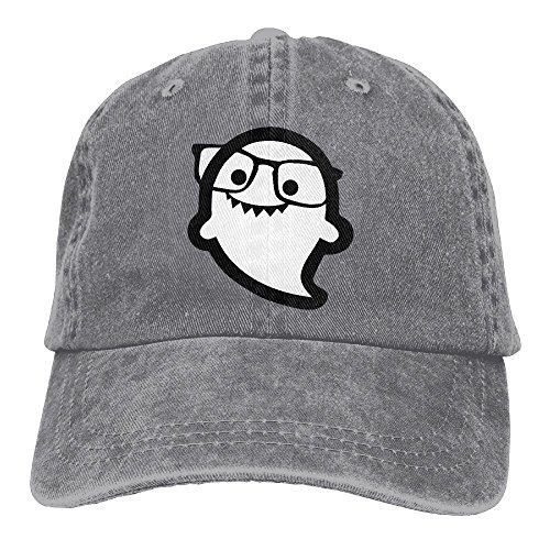 MingDe YY Hi I'm Ghost Sunglass Vintage Trucker Hat Washed Denim Adult Cowboy Hat Baseball - Polo Jeans Sunglasses