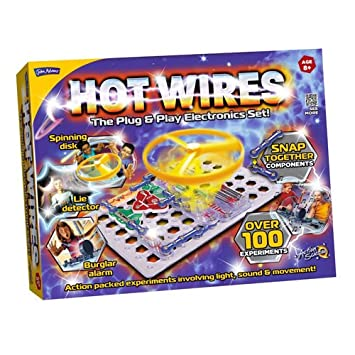 john adams hot wires electronics kit amazon co uk toys games rh amazon co uk Hot Rod Wiring Wiring a Hot Tub Spa