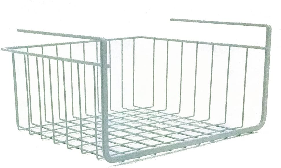 "Modern Home 10"" Cabinet Wire Hanging Basket Shelf"