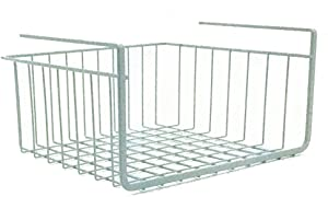 "Modern Home 10"" Cabinet Wire Hanging Basket Shelf"