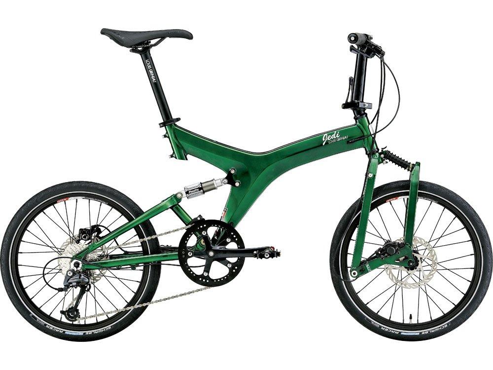 ルイガノ(LOUIS GARNEAU) 16'LGS-JEDI MS 折畳自転車20415mm ブリティッシュグリーン 15LG-JMS-03 B018HNKXDA