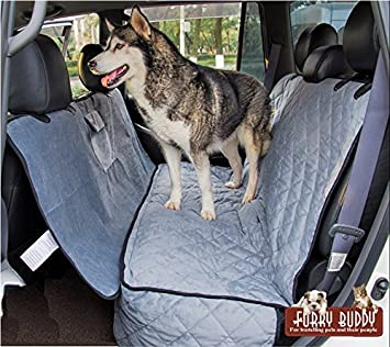 Supreme Car Seat Covers For Dogs By Furry Buddy Waterproof Quilted Microfiber Dog Cover