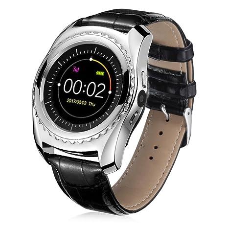 fullfun impermeable Bluetooth reloj inteligente con ritmo cardíaco monitor de presión arterial función, B,