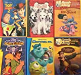 Disney's CD/Cassette Read-Alongs 6-Pack: Toy Story 2, Lilo & Stitch, 102 Dalmatians, Emperor's New Groove, Treasure Planet, and Monsters, Inc (CD Read-Along)