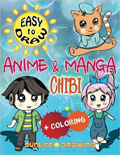 Amazon Com Easy To Draw Anime Manga Chibi Draw Color 20 Cute