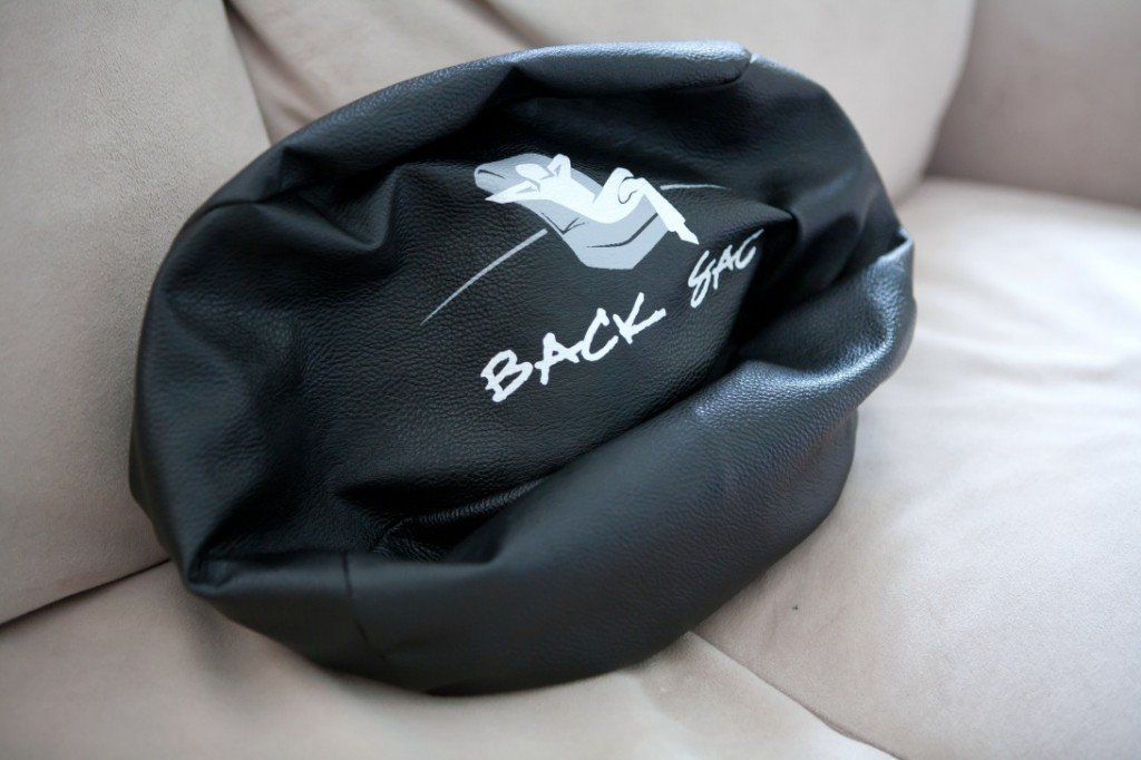 The Back Sac - Adjustable Back Rest & Body Support Cushion