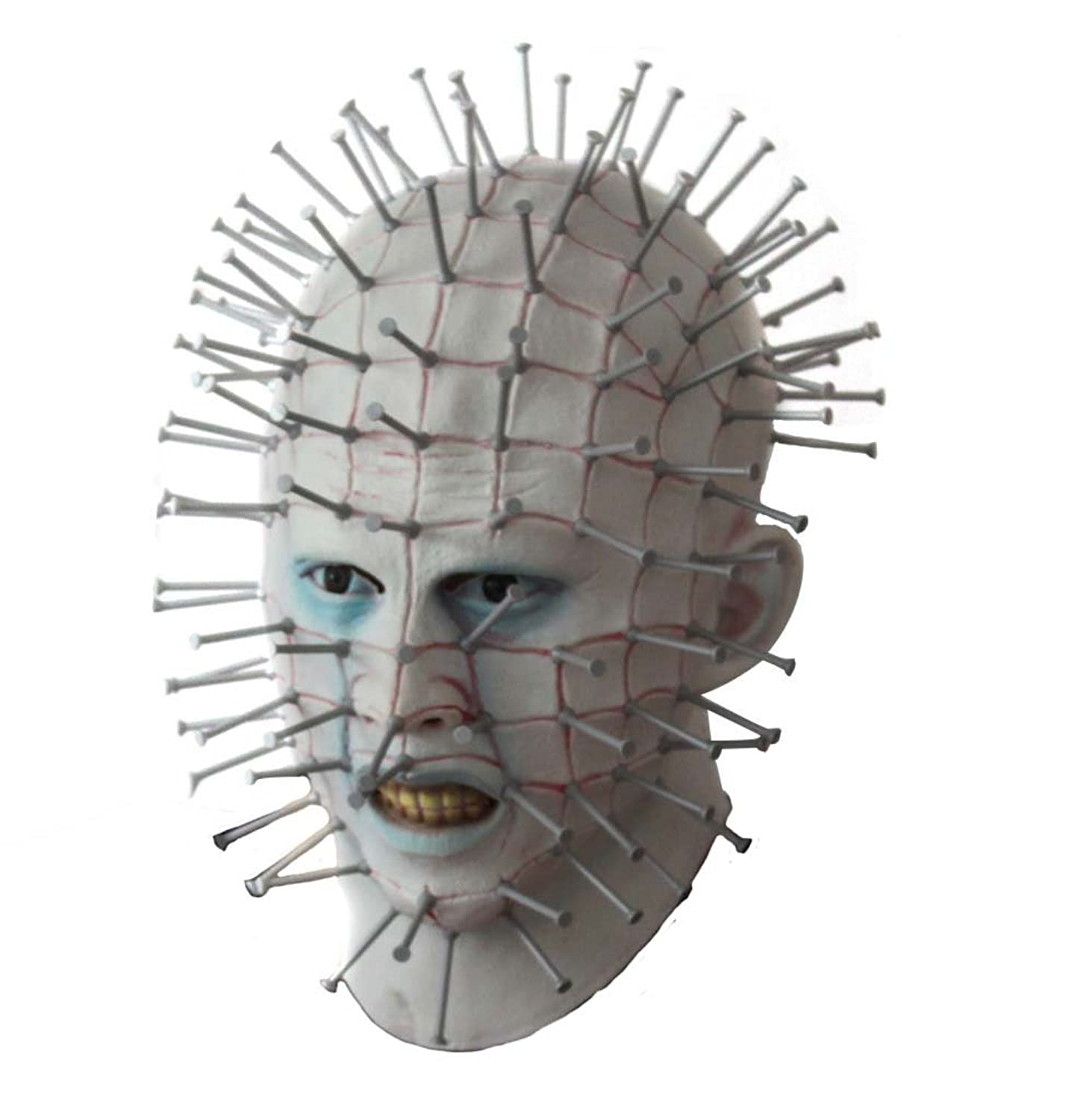 Men's Smiffy Pinhead Mask Deluxe Mask