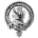 Farquharson Clan Crest Scottish Cap Badge