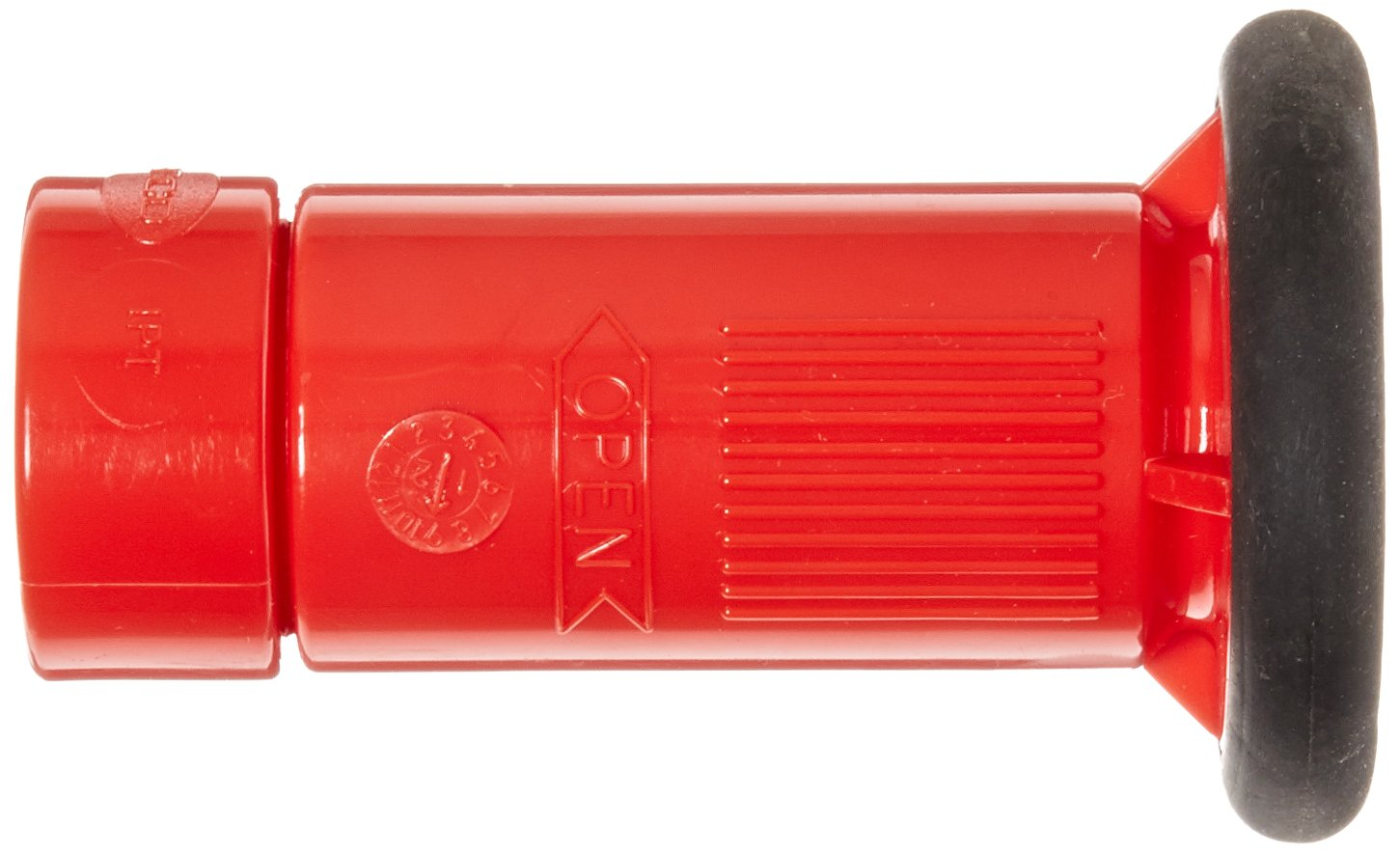 1 NPS Dixon Valve HGB100S Polycarbonate Fire Equipment Thermoplastic Fog Nozzle with Bumper