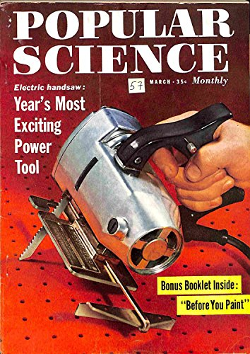 Popular Science Monthly Magazine, March 1958 (Vol. 172, No. 3):