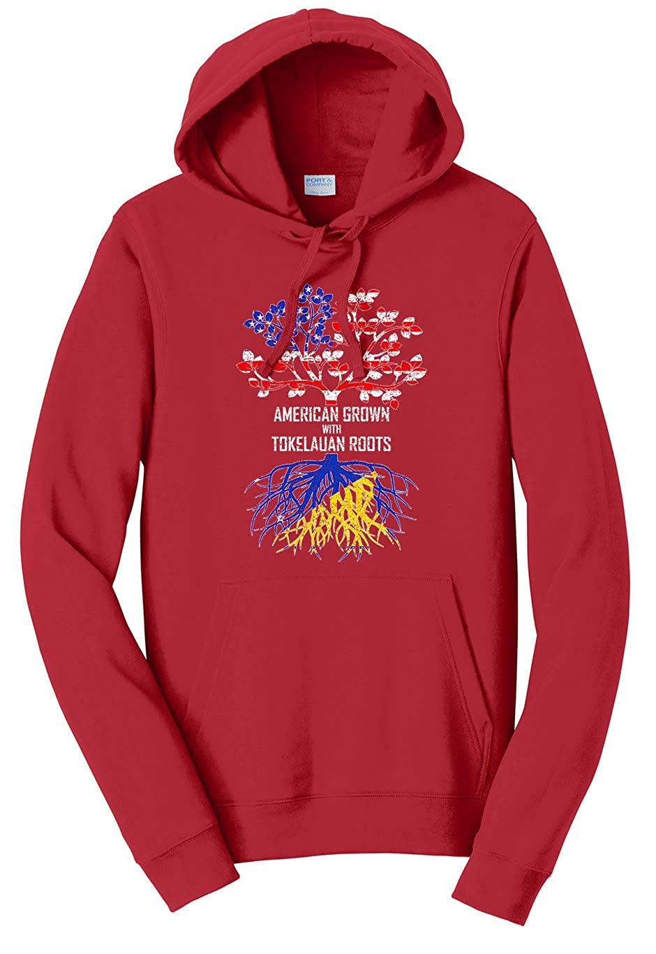 Tenacitee Unisex American Grown with Tokelauan Roots Sweatshirt