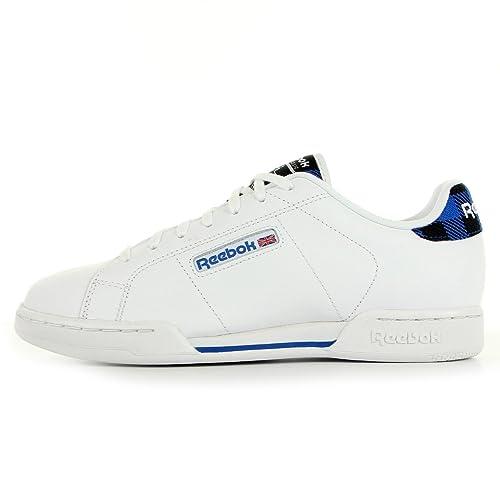 Größe Rad Weiß Plaid Npc Herren Sneaker blanc Reebok Bianco 8wfOqZPx